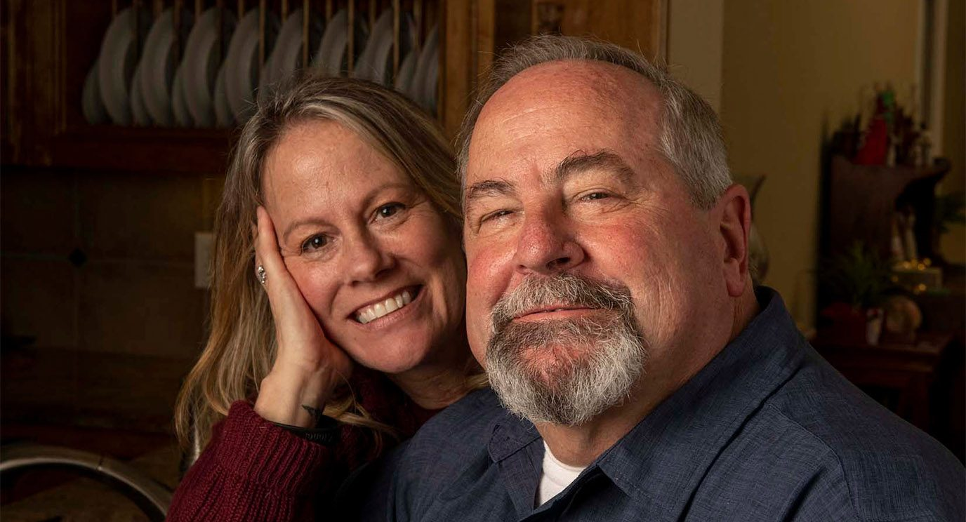 When Gary Guthrie's melanoma skin cancer spread to his brain, he and his wife, Leslie, turned to MD Anderson's Brain Metastasis Clinic for help..