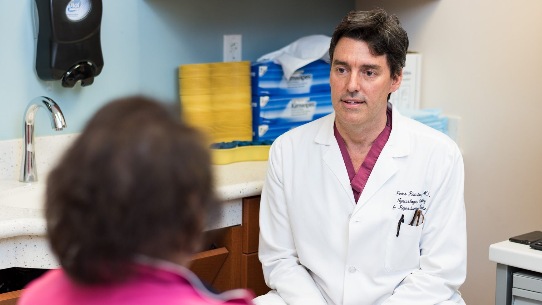 Cervical cancer surgeon Pedro Ramirez, M.D.
